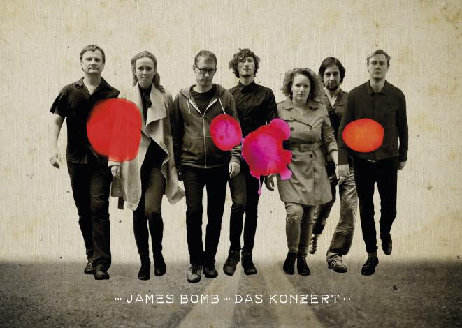 JAMES BOMB Plakat Thomas Rhyner