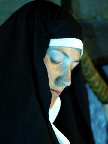 Katharina in TIERPARK als Nonne