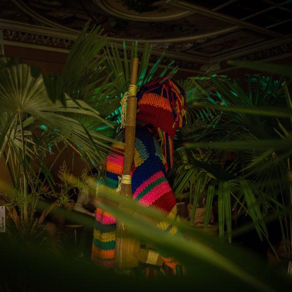 Palmenwald mit Strick STURM IN PATUMBAH